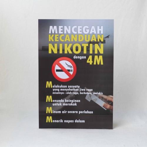 Foto Produk Poster Larangan Merokok 1 dari Syafana