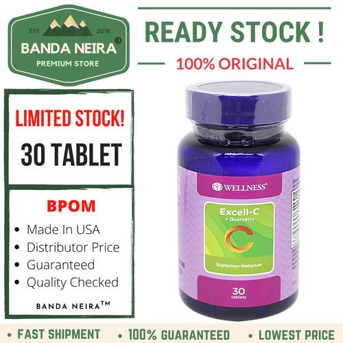 Foto Produk Wellness Excell C + Quercetin 30 Tablet dari Banda Neira Store