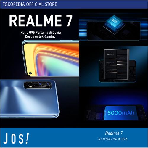 Foto Produk REALME 7 8/128GB RAM 8GB INTERNAL 128GB GARANSI RESMI REALME - Blue dari J O S