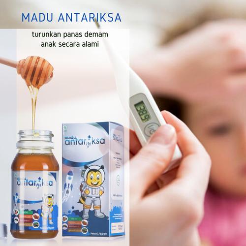 Foto Produk Obat Panas Anak - Madu Antariksa Vitamin Penurun Panas Anak Alami dari Senja Hari