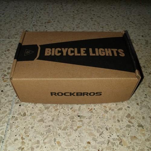 Foto Produk Lampu sepeda rockbros 400LM dari Dee Collection