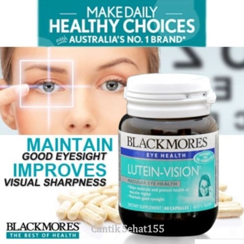 Foto Produk Blackmores Lutein Vision 60softgel Made in Australia Mata sehat terang dari Cantik Sehat155