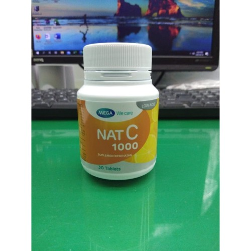 Foto Produk NAT C 1000 MENINGKATKAN DAYA TAHAN TUBUH dari vitaminmurahcom