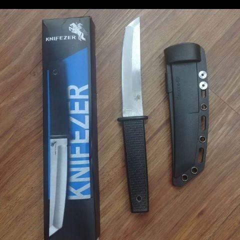 Foto Produk KNIFEZER Pisau self defense 17T - Black - Hitam - Hitam dari ini-shop
