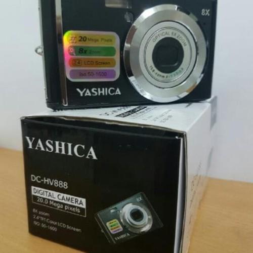 Foto Produk Yashica DC-HV888 Digital Kamera Pocket Instan 20MP dari Pusat Droncam