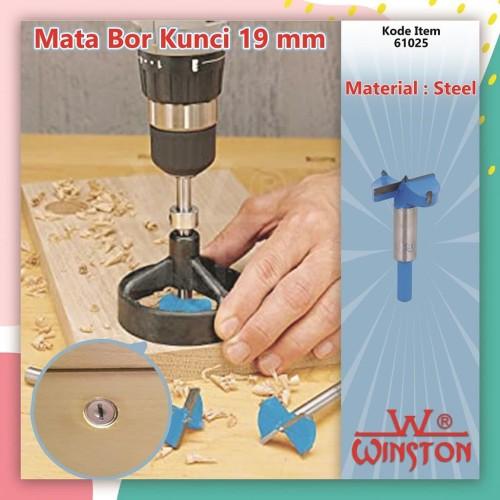 Foto Produk Mata Bor Kunci 19mm Winston / Mata Bor Lubang Kunci Lemari Laci dari WINSTON SUKSES ABADI