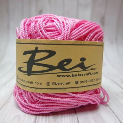 Foto Produk Benang Rajut Nilon / Nylon D27 Warna Pink Muda dari RT 04 Shop