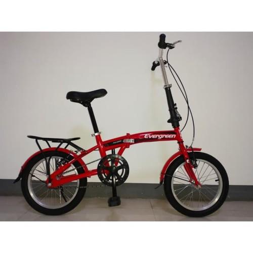 Foto Produk Sepeda Lipat 16 Anak & dewasa Evergreen dari kedaisepeda