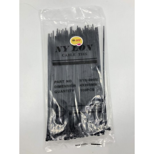 Foto Produk M-One Kabel Ties / Cable Tie 4 x 200mm (20 cm) dari M-One Official Store