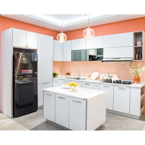 Foto Produk Paket Custom Furniture Kitchen Putih Anti Bakteri Mulai dari Rp88juta dari IDEMU by VIVERE