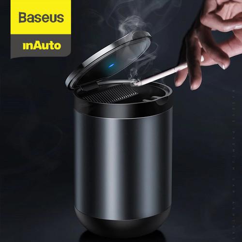 Foto Produk BASEUS CAR ASHTRAY CUP ASBAK MOBIL TEMPAT ABU ROKOK TONG SAMPAH - Abu-abu dari Baseus Auto Life