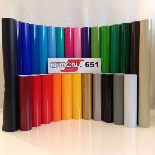 Foto Produk Oracal 651 ( meteran ) - Glossy / Kilap dari atom sticker