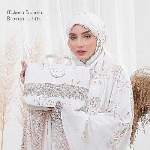 Foto Produk MUKENA JUMBO DEWASA GRACELLA BROKEN WHITE dari Pusat Mukena Indonesia