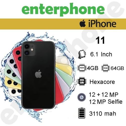 Foto Produk iPhone 11 64GB Garansi Resmi Ibox - Hitam dari enterphone2