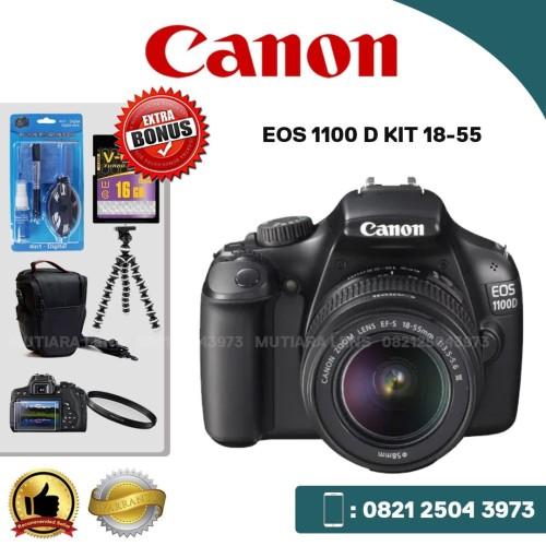 Foto Produk Kamera CANON EOS 1100 D KIT 18-55 dari MUTIARA CCTV