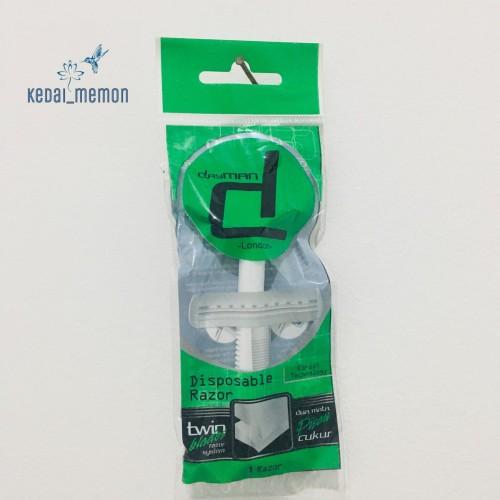 Foto Produk Pisau Cukur Dayman Razor Twin Blade Cukuran Kumis 1 pcs dari Kedai Memon