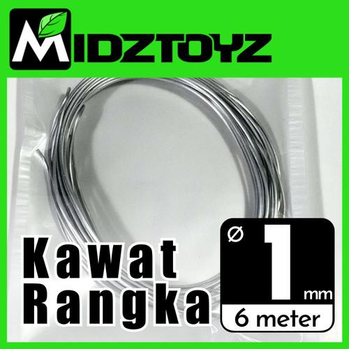 Foto Produk Kawat rangka aluminium 1mm 6M Armature wire dari Midztoyz
