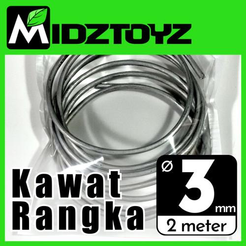 Foto Produk Kawat rangka aluminium 3mm 2M Armature wire dari Midztoyz