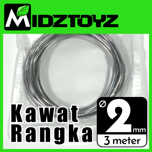 Foto Produk Kawat rangka aluminium 2mm 3M Armature wire dari Midztoyz