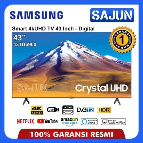 Foto Produk Smart TV Samsung 43TU6900 Crystal UHD 4K TV LED 43 Inch UA43TU6900 dari Sajun Electronic