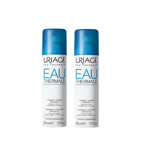 Foto Produk Uriage Double Thermal Water Spray 50 ml dari Uriage Official Store