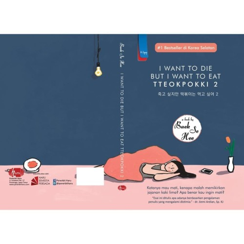 Foto Produk Novel I Want To Die But I Want To Eat Tteokpokki 2 dari Millennia Bookstore