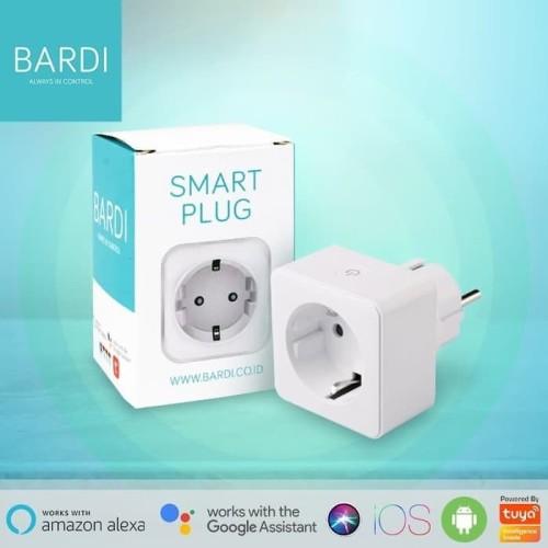 Foto Produk BARDI Smart PLUG WiFi Wireless Colokan - IoT Smart Home dari Bardi Official Store