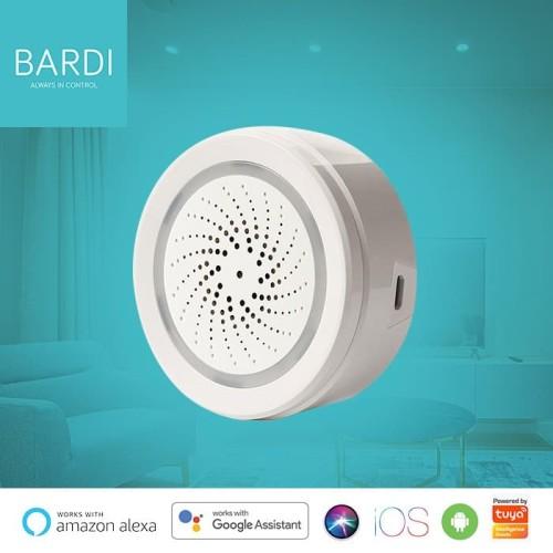 Foto Produk Bardi Smart Home Wifi Siren Loud Alarm Android/iOS Support dari Bardi Official Store