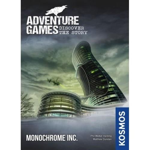 Foto Produk Adventure Games: Monochrome Inc. (Original) Board Game - TBG dari Toko Board Game