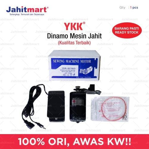 Foto Produk Dinamo Kecil Mesin Jahit & Obras Merk YKK 120 Watt dari jahitmart