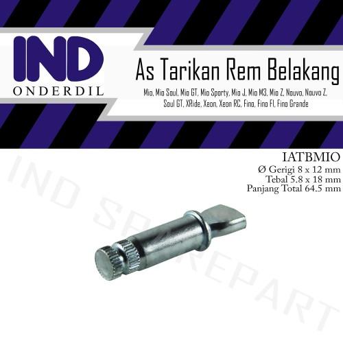 Foto Produk As Paha-Tarikan Rem Tutup Panel-Tromol Belakang Mio Soul-GT/X-Ride dari IND Onderdil