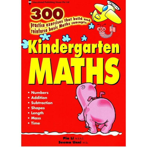 Foto Produk 300 Kindergarten Maths dari Little Bookworm