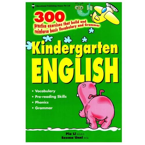 Foto Produk 300 Kindergarten English dari Little Bookworm