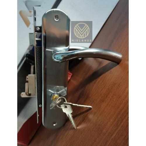 Foto Produk Kunci Pintu Besar / Handle Pintu Besar Plat / Gagang Pintu Rumah Kamar dari Midlands