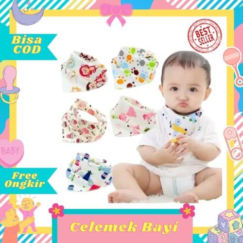 Foto Produk Slabber Celemek Bayi / Tatakan Makan / Tadah Liur / Alas Dada - Boy dari Toko Bayi Hanifah