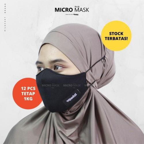 Foto Produk Masker Hijab Adjustable Masker Kain by Hijacket Polos Micromask - ORCHID dari HIJACKET CENTER