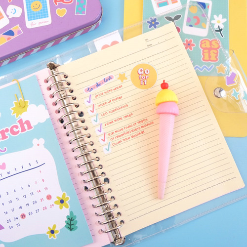 Foto Produk College Sweetheart Journal in Clear - B5 dari Curated Crush