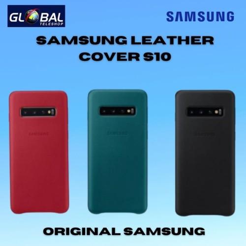Foto Produk Samsung Case Leather S10 - Merah dari Global Teleshop