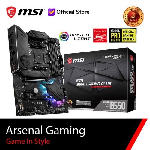 Foto Produk MSI MPG B550 GAMING PLUS [ATX   AM4] - B550 Gming Plus dari MSI Shop ID