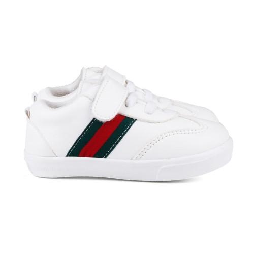 Foto Produk syalu Sepatu Anak unisex sneakers sintetis putih - Putih, 24 dari Syalu Shoes