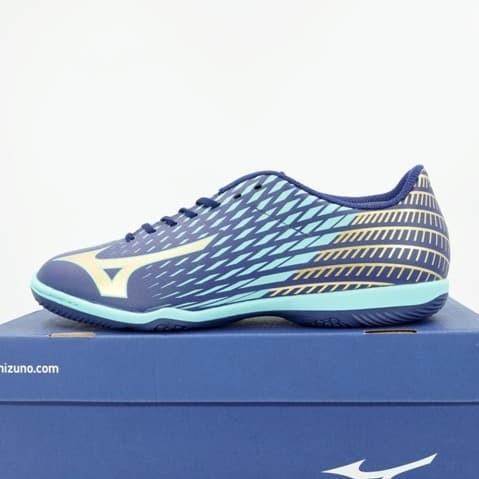 Foto Produk Sepatu Futsal Mizuno Basara Sala Club IN Blueprint Gold Q1GA193350 Ori dari KING OF DRIBBLE