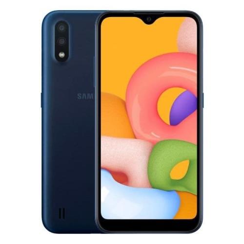 Foto Produk Samsung Galaxy A01 (2GB/16GB) - Blue dari Samsung Mobile Indonesia