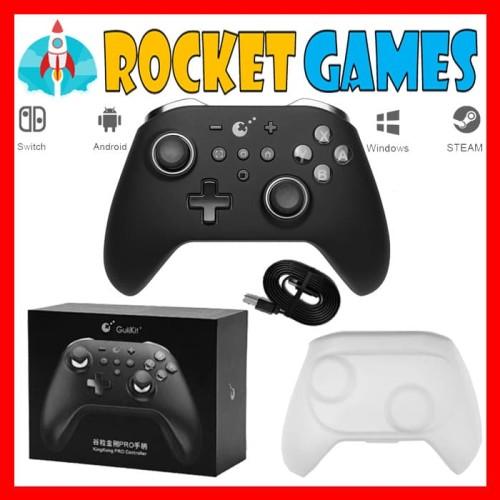 Foto Produk Nintendo Switch Gulikit Kingkong Pro Controller (Black) dari Rocket games