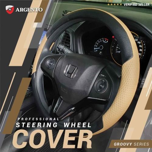 Foto Produk Argento Groovy Sarung Setir -Cover Stir /Cover Steer Mobil Universal dari TDC Variasi