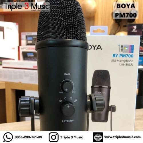 Foto Produk Boya Pm700 BY-PM700 USB Condenser Microphone Original dari triple3music