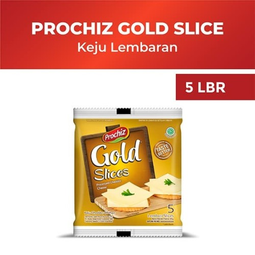 Foto Produk Prochiz Gold Cheddar Slices 5'S dari Diamond Supermarket