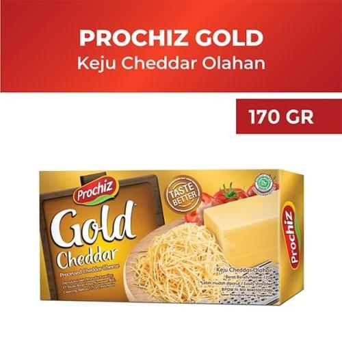 Foto Produk Prochiz Gold Cheddar 170 g dari Diamond Supermarket
