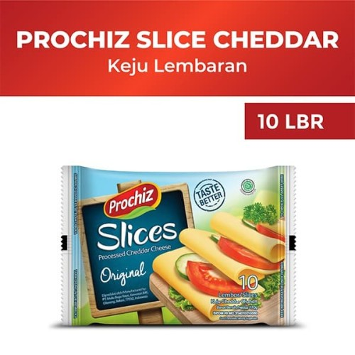 Foto Produk Prochiz Cheddar Slices 10'S dari Diamond Supermarket