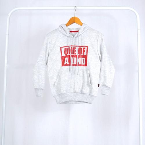 Foto Produk Sweater Hoodie Anak Korea / SweaterTopi Anak Perempuan Okechuku - Abu Muda Size 4 dari Okechuku