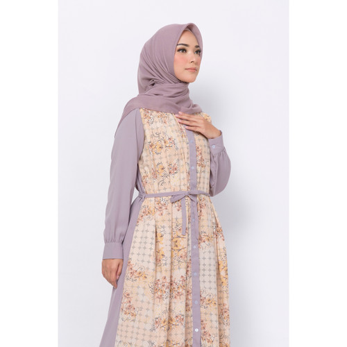 Foto Produk ZM Zaskia Mecca - Kara Dress - Jelita Indonesia - Edisi Pulau Bangka - Cream, M dari Zaskia Mecca Official